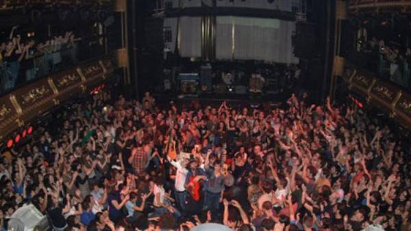 Salas de conciertos en barcelona for Bikini club barcelona
